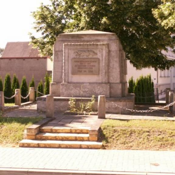 Das Denkmal zu Ehren der Kriegsopfer der 1. Weltkrieges