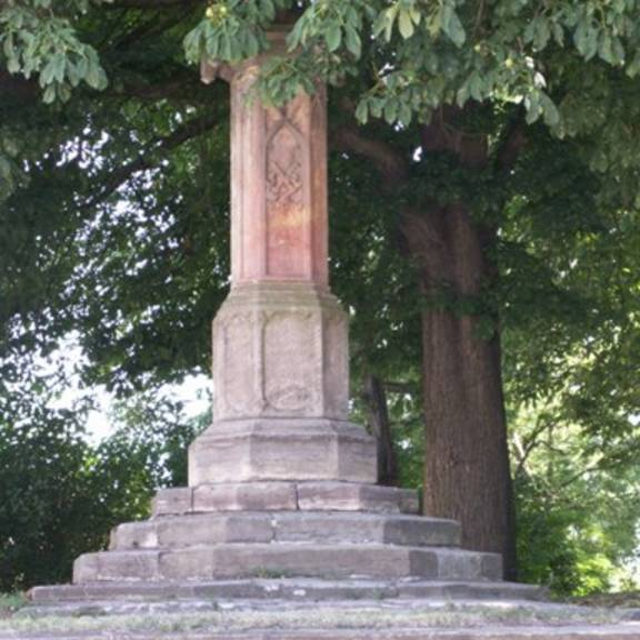 Das Denkmal auf dem Kirchenberg